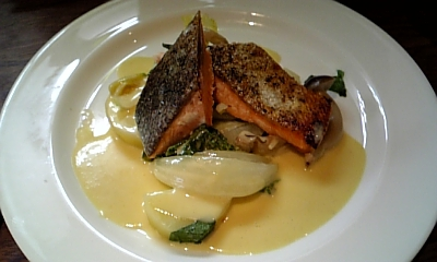 鮭の~マヨネーズソース