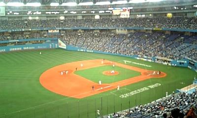 野球観戦1