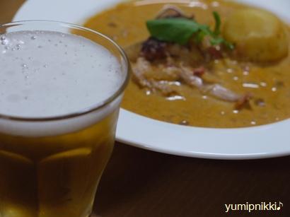 ビール&南ドイツ風グラーシュ♪
