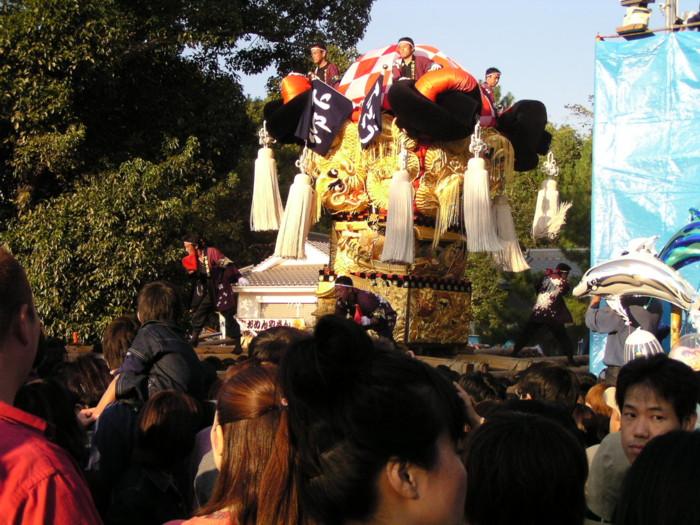 八幡神社宮入