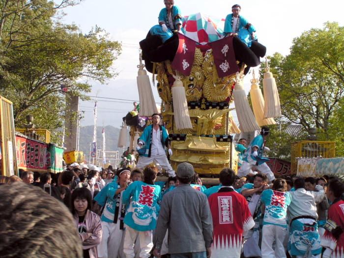 八幡神社かきくらべ