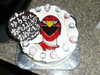 ゆうちん。のお誕生日ケーキ。