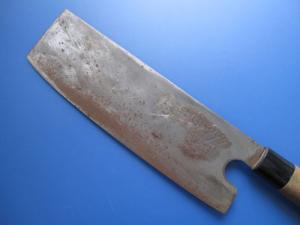 菓子切り包丁(修理前)