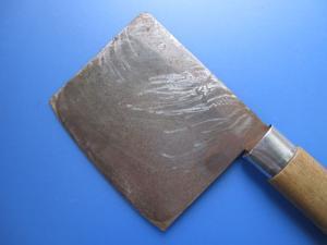 葉切り包丁(修理前)