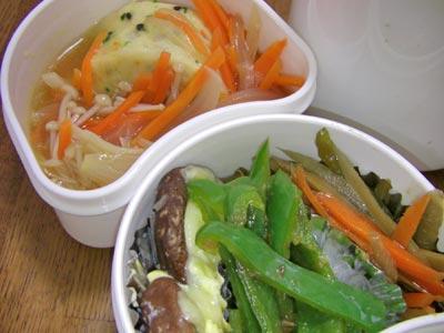 冷凍食品をアレンジして、ちょっと豪華に。