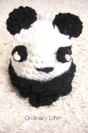 パンダのエコたわし