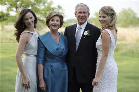 ブッシュ米大統領の娘ジェンナさんが結婚 - ほぼ毎日 英語学習日記 ...