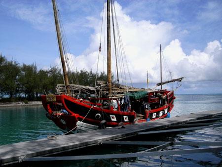 中国の帆船