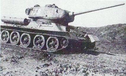ソ連T34戦車