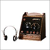 国産初の鉱石ラジオ