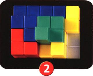 ブロックス3D:以降の置き方