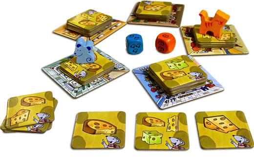チーズ狩り!:遊戯中