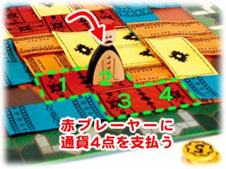 マラケシュ:絨毯を踏んだ時の支払い
