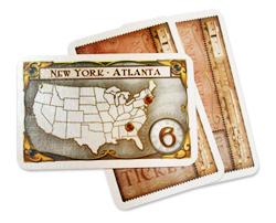 チケット トゥ ライド:目的地カード