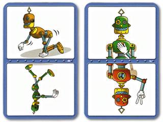 君はロボット:ポーズカード