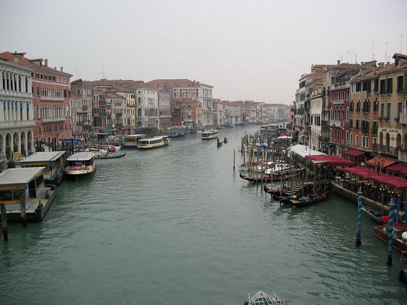 イタリア -リアルト橋-